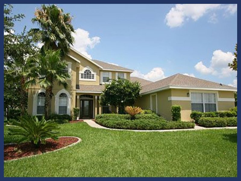 Executive 7 Bed Lakefront Home - 2 Miles to Disney - Image 1 - Four Corners - rentals