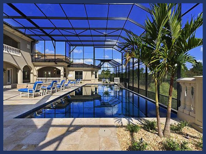 Amazing high end 9 bed, library, home cinema, gym, poker room, huge pool with hot tub - Image 1 - Reunion - rentals