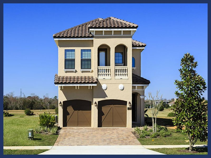 Contemporary 5 Bedroom Golf View Home with private pool and spa - Image 1 - Reunion - rentals