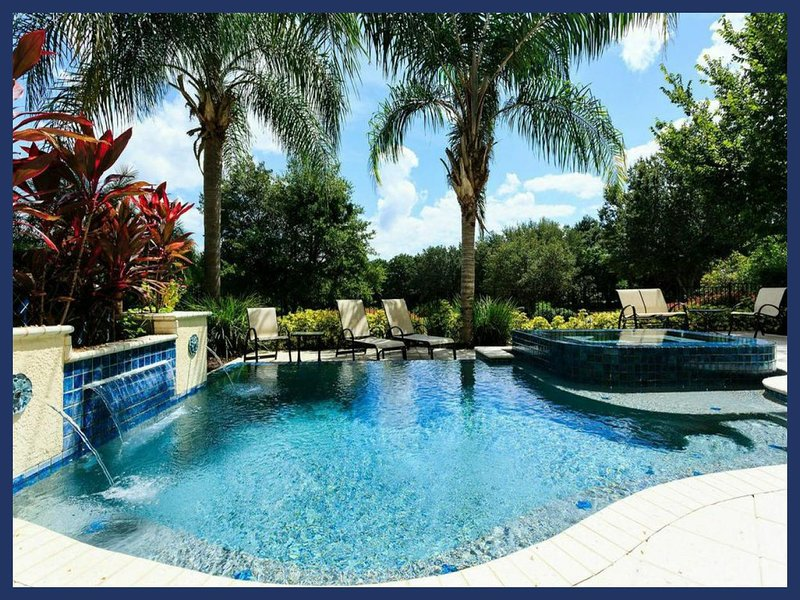 Stunning 5 Bed Home - Private Pool - Near Disney! - Image 1 - Reunion - rentals
