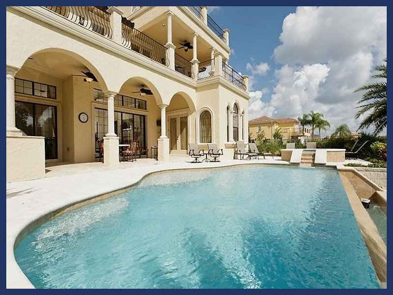 Stunning 5 bed Reunion Resort home with roof terrace, pool, spa and games room - Image 1 - Reunion - rentals