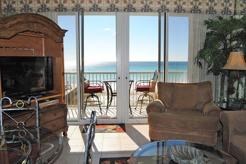 Living Room Waters Edge Resort 313 Fort Walton Beach Okaloosa Island - Waters Edge Resort, Unit 313 - Fort Walton Beach - rentals