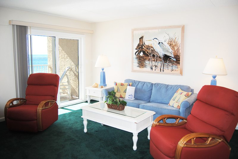 Living Room Island Echos 3M Fort Walton Beach Okaloosa Island Vacation Rentals - Island Echos Resort, Unit 3M - Fort Walton Beach - rentals