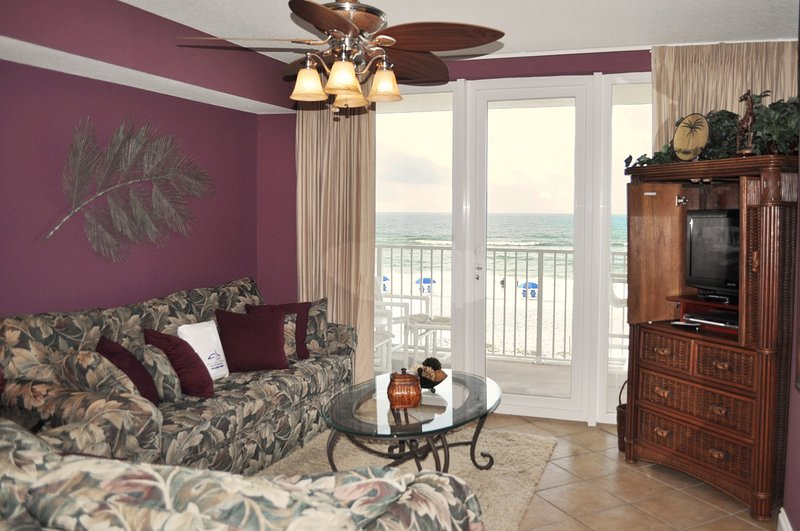 Living Room Sea Dunes Resort Unit 202 Fort Walton Beach Okaloosa Island Vacation Rentals - Sea Dunes Resort, Unit 202 - Fort Walton Beach - rentals