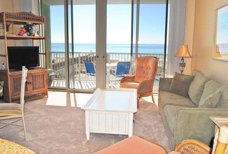 Living Room Waters Edge Resort Unit 213 Fort Walton Beach Florida Okaloosa Island Vacation Rentals - Waters Edge Resort, Unit 213 - Fort Walton Beach - rentals