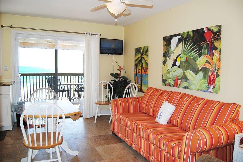 Living Room, Sandollar Townhomes Unit 12A Miramar Beach Beach House Destin Florida - Sandollar Townhomes, Unit 12A - Destin - rentals