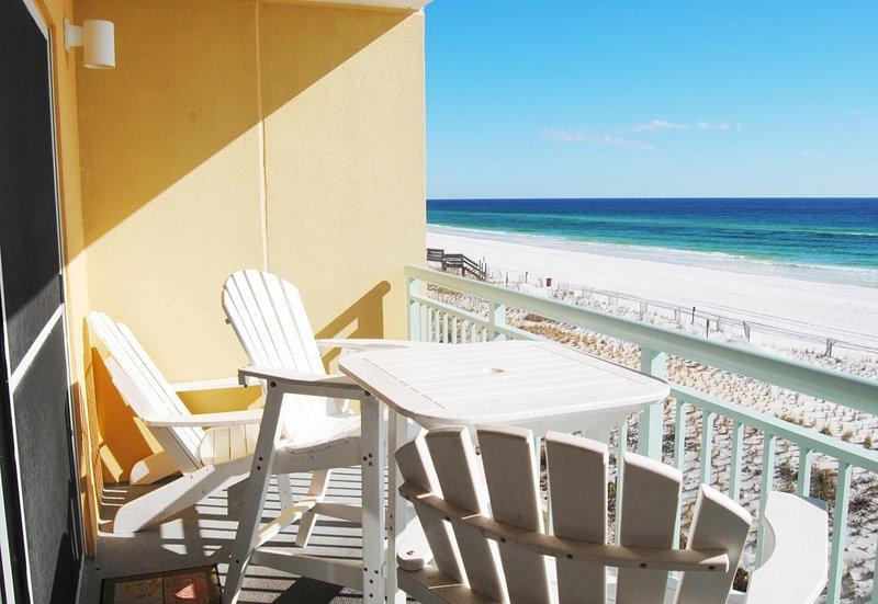 Balcony, Pelican Isle Resort Okaloosa Island - Pelican Isle Resort, Unit 317 - Fort Walton Beach - rentals