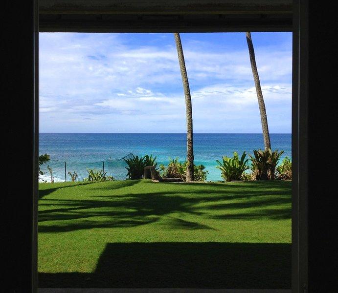 Downstairs Ocean View - Vans Pipeline House - Haleiwa - rentals