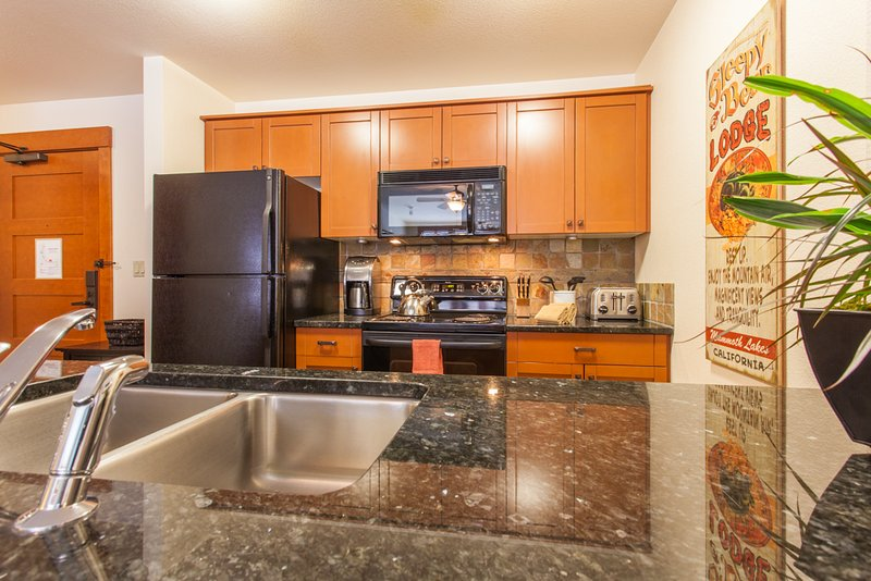 Kitchen - Village # 3210- Lincoln House - Mammoth Lakes - rentals