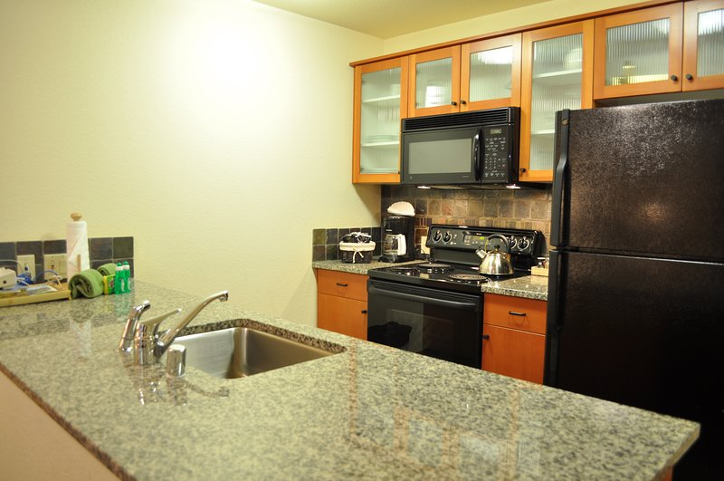 Kitchen - Village # 2416 - White Mountain Lodge - Mammoth Lakes - rentals