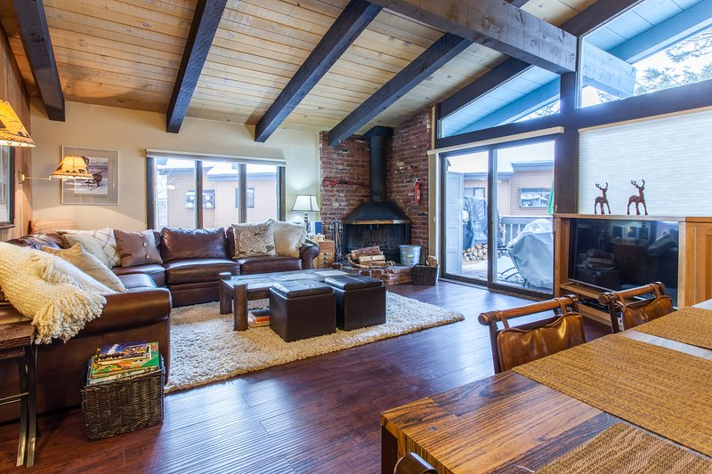 Livngroom - Chateau Sans Nom # 17 - Mammoth Lakes - rentals