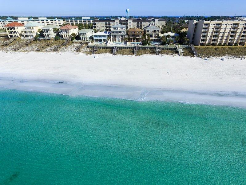Aerial view from the beach - ALERIO E403 - Miramar Beach - rentals