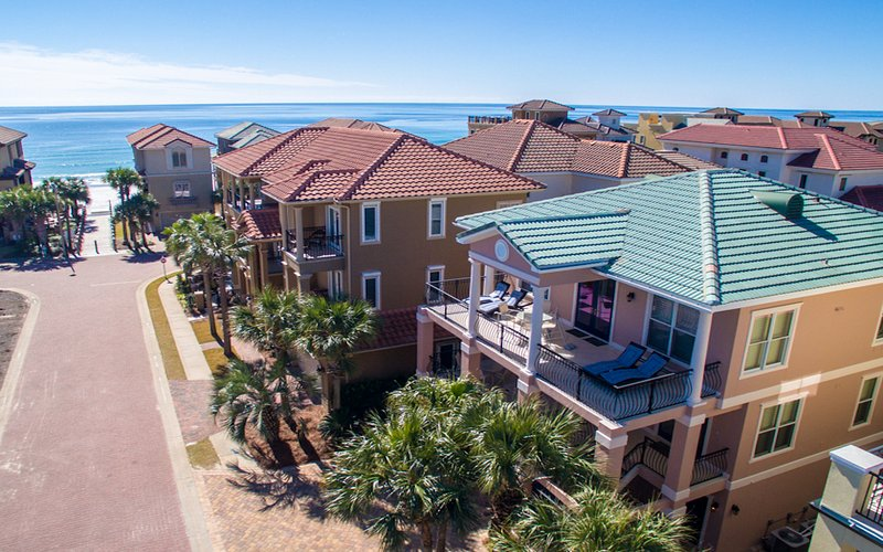 Aerial View of Home - Honu Hale - Destin - rentals