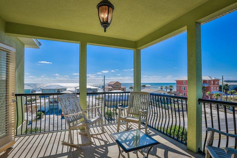 Balcony - LILLY PAD - Santa Rosa Beach - rentals
