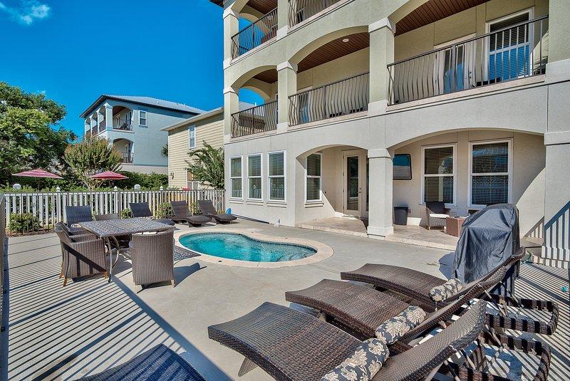 pool and house view - Destination Fun - Destin - rentals