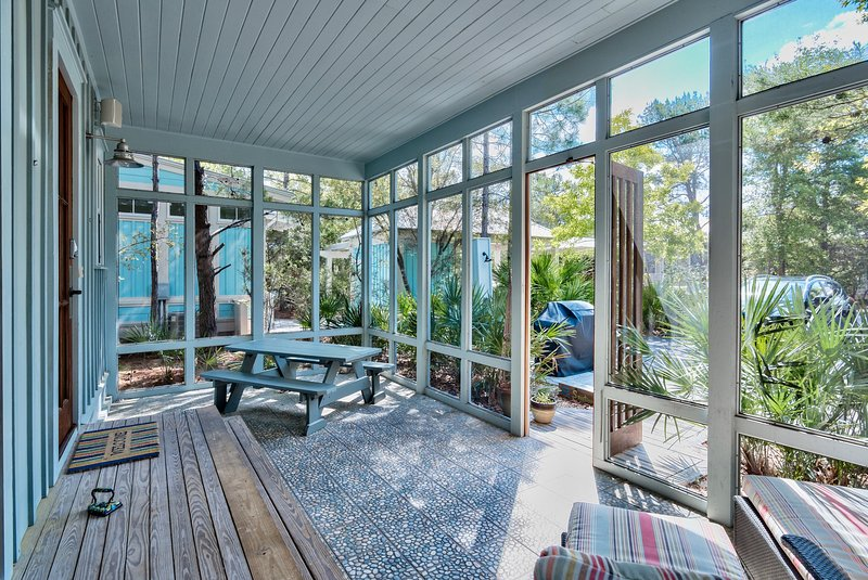 Outdoor Lounge Area - Ocean 52 - Santa Rosa Beach - rentals
