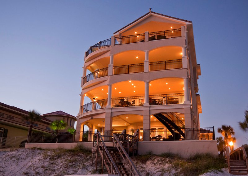 Home View From Beach - Palazzo del Mar - Destin - rentals