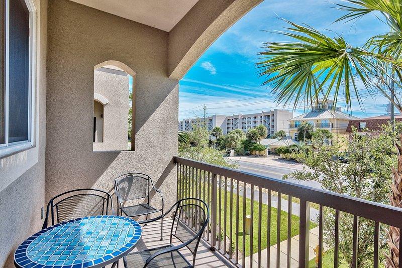 Back porch view - ALERIO D204 - Miramar Beach - rentals