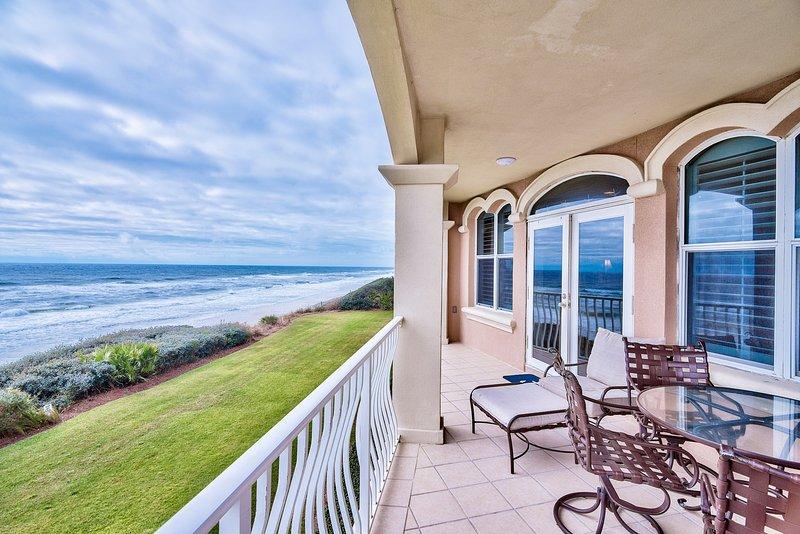 Deck view - 30A MONTEREY PLACE - Seacrest - rentals