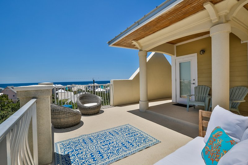 roof over view - SUMMERPLACE 7 - Santa Rosa Beach - rentals