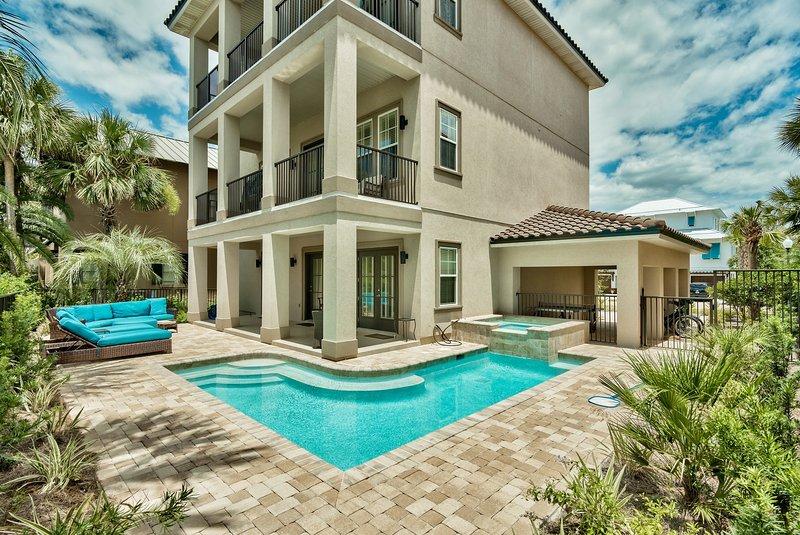 pool and house view - Villa Destiny - Destin - rentals