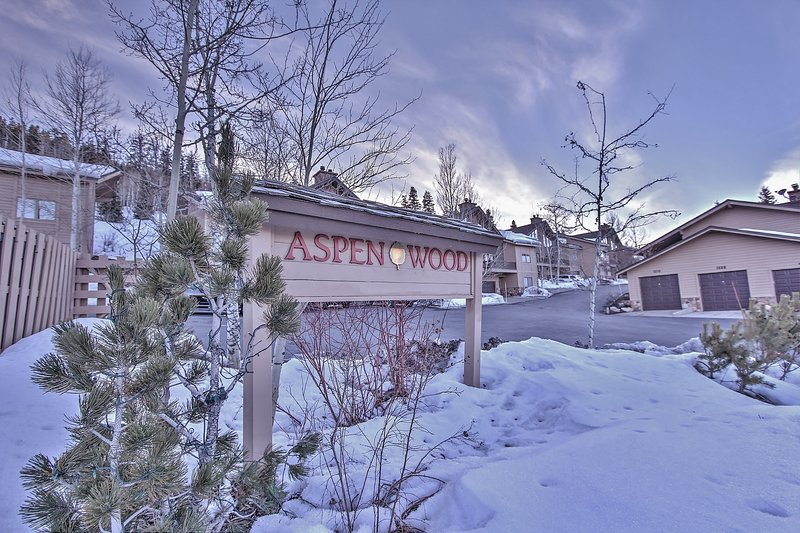 Entrance to Aspenwood - Deer Valley Aspenwood - Park City - rentals