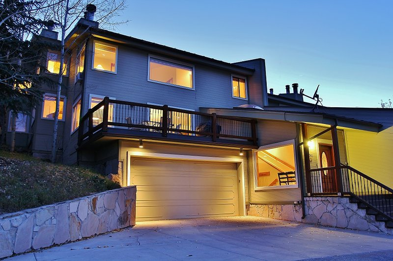 Park City Lowell Estate Exterior with private deck - Park City Lowell Estate - Park City - rentals