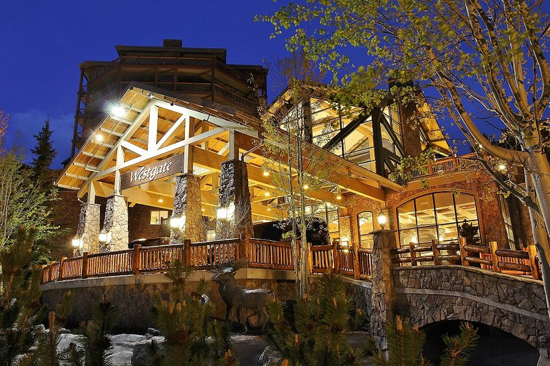 Exterior front and entry - Park City Westgate - Park City Westgate Condo - Park City - rentals