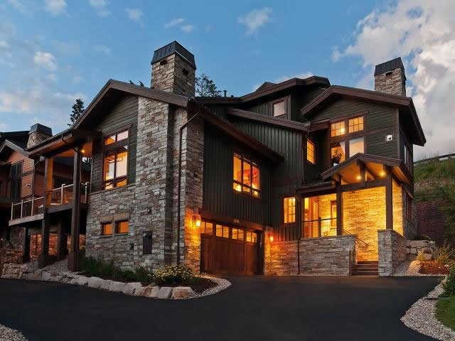 Front exterior of Lookout 12 - Deer Valley - Lookout #12 - Park City - rentals