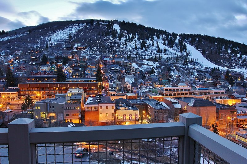 Panoramic View of downtown Park City from Park City Panorama - Park City - Park City Panorama Mansion - Park City - rentals