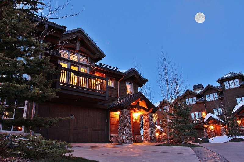 Exterior View of Deer Valley Ski Estate - Deer Valley Ironwood Ski Estate #20 (ski-in/out) - Park City - rentals