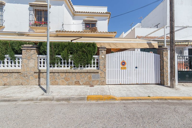 Façade of the house.  - Apartment in Chipiona, Costa de la Luz,, Spain. - Chipiona - rentals