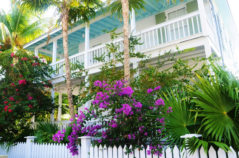 Main House view from Thomas Street - OLD TOWN KEY WEST - Historic & Charming - Main - Key West - rentals