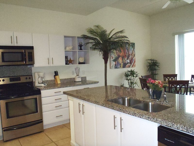 Your fully stocked kitchen is stylish, light and open! - Las Marinas #103 - South Padre Island - rentals