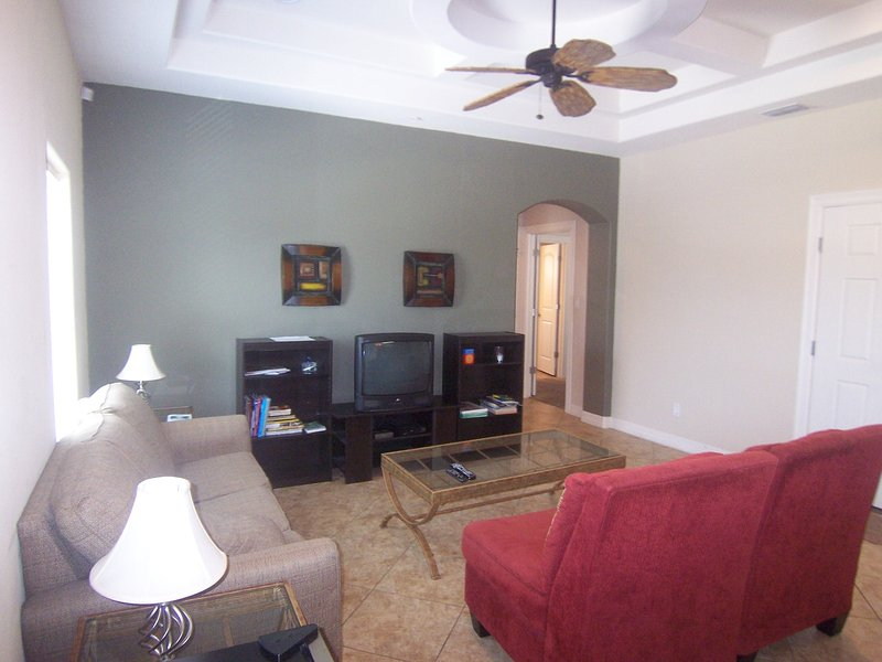 Sea Glass Living Room.  Free WI-FI and extended cable. - Sea Glass #7 - South Padre Island - rentals