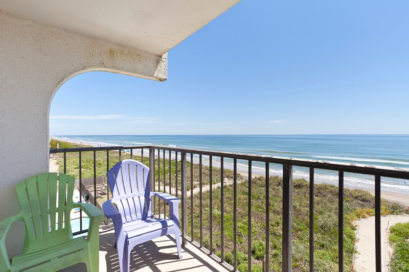 Gorgeous beach front views from balcony. - Florence 1- Unit 402 - South Padre Island - rentals