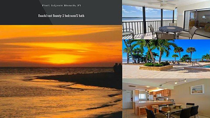 Beachfront Beauty *On The Beach- WiFi&ROKU - Image 1 - Fort Myers Beach - rentals