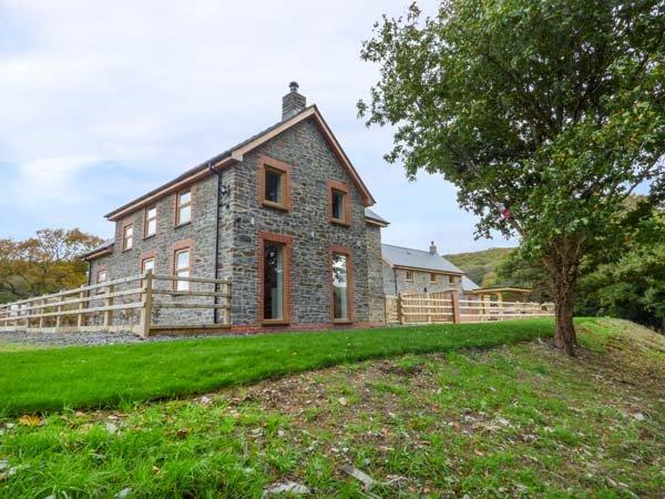 PENGEULAN, detached, woodburner, enclosed garden, hot tub, Capel Bangor, Ref 918045 - Image 1 - Capel Bangor - rentals