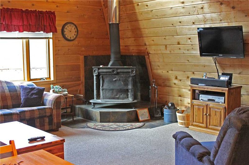 Located at Base of Powderhorn Mtn in the Western Upper Peninsula, An Intimate Little Home with Free-Standing Fireplace - Image 1 - Ironwood - rentals