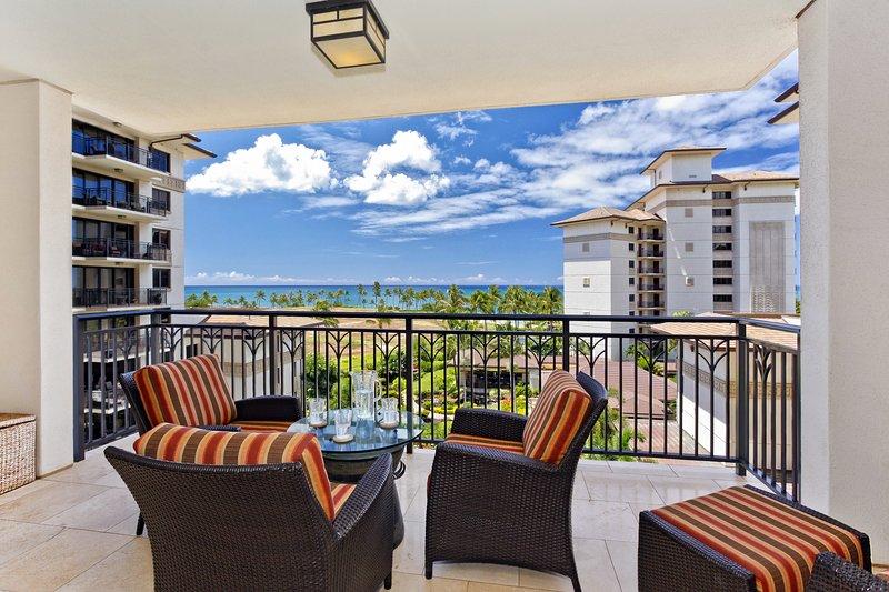 Lanai with Ocean & Pool Views - Beach Villas OT-603 - Kapolei - rentals
