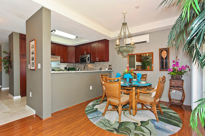 Dining Area and Newly Remodeled Kitchen - Fairways at Ko Olina 22H - Kapolei - rentals