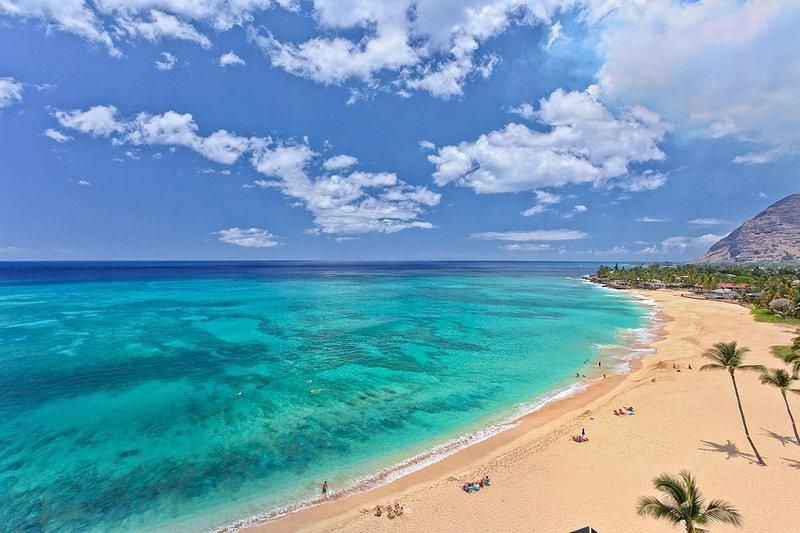 The View Looking West - Makaha - Hawaiian Princess - 908 - Waianae - rentals