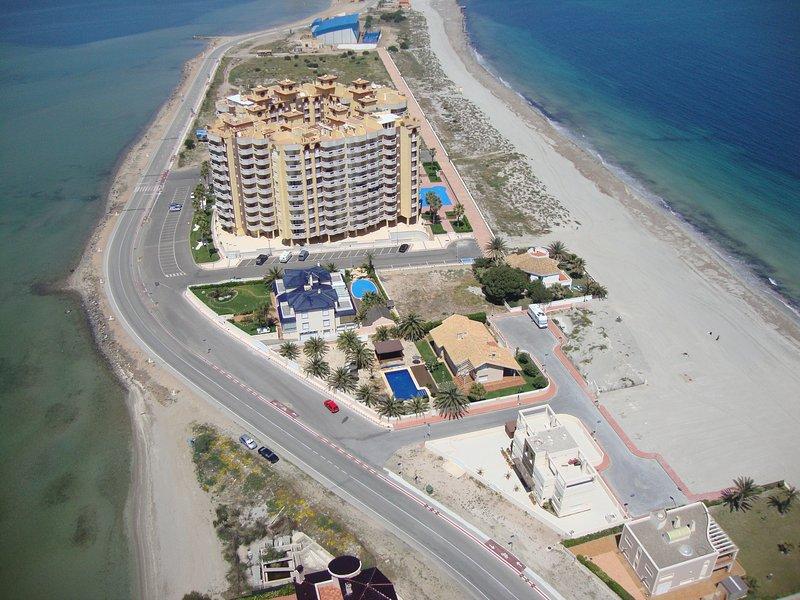 Seafront Apartment La Manga del Mar Menor, Spain - Image 1 - La Manga del Mar Menor - rentals