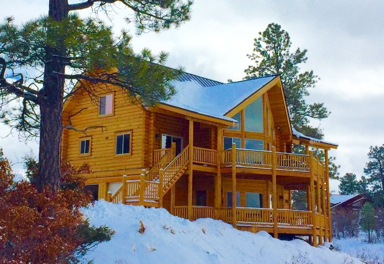 Luxury Cabin w. Private 4 Bedroom Suites & Panoramic Views of National Park - Image 1 - Pagosa Springs - rentals