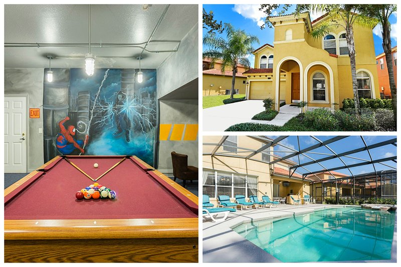 Watersong Disney Villa Huge 4200 sqf in gated area - Image 1 - Davenport - rentals