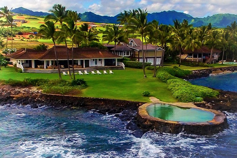 Kalaekiki- Poipu's most spectacular vacation rental - Kauai's Most Popular Oceanfront Vacation Rental - Poipu - rentals