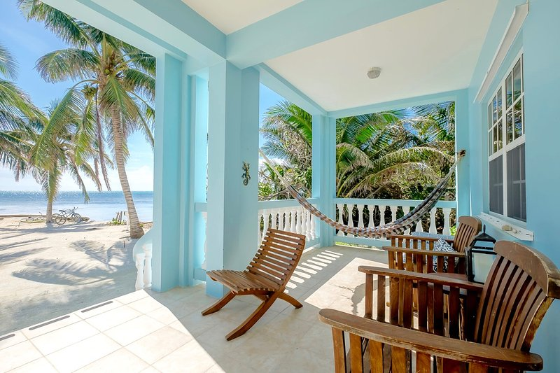 Your porch is made for relaxing!! - B1 Beachside with porch, kayaks, bikes & more! - San Pedro - rentals