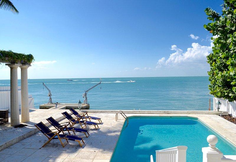 Your view from Otro Mundo - Amazing Ocean Front villa Otro Mundo Key Biscayne - Key Biscayne - rentals