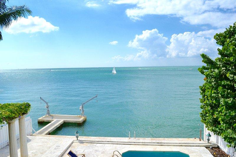 Amazing Ocean Front villa Otro Mundo Key Biscayne - Image 1 - Key Biscayne - rentals