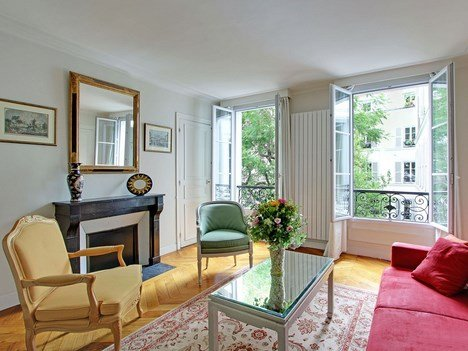 Garden2 - 2 bedroom bright family apartment sleeps up to 6 - Image 1 - Paris - rentals